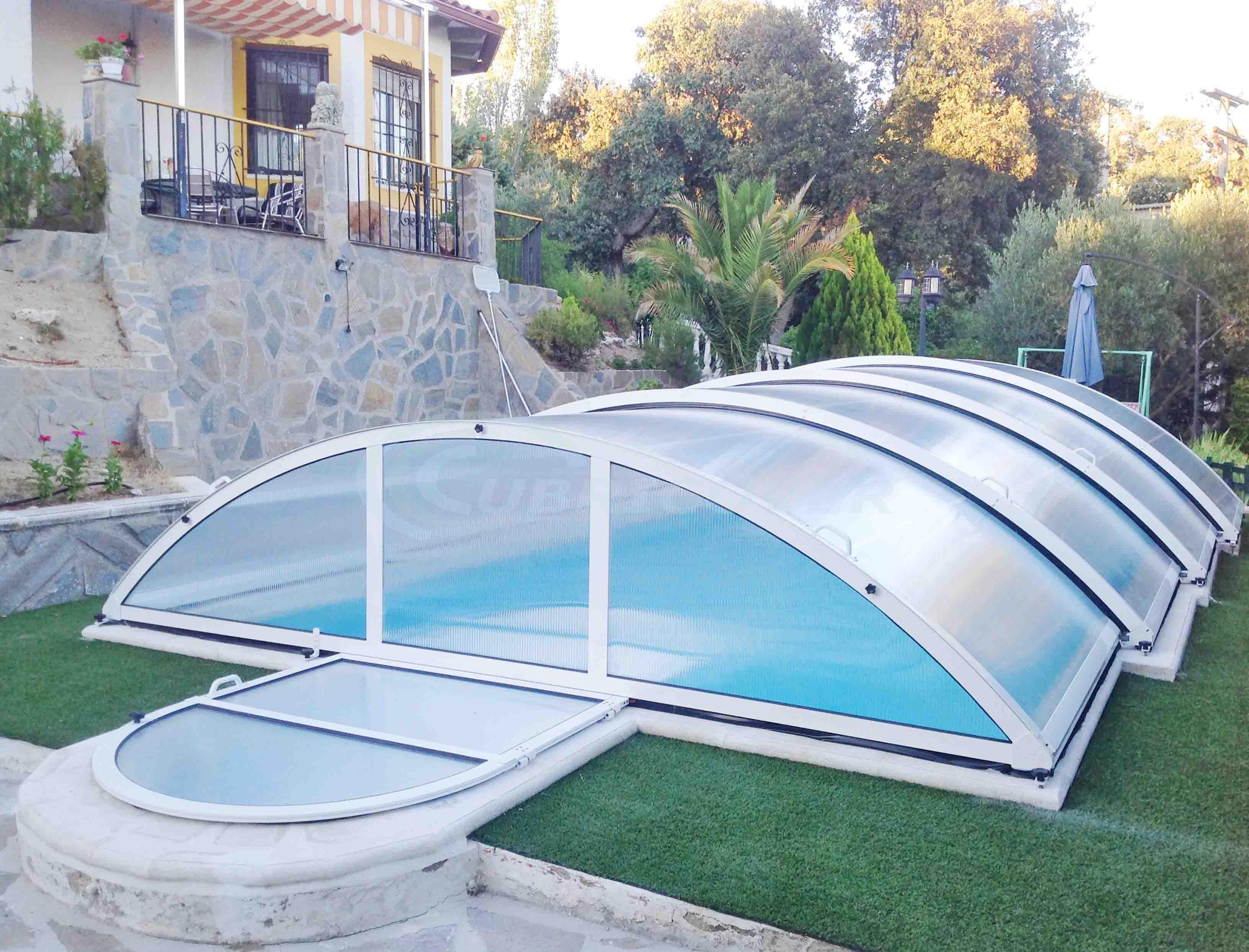 Cubiertas de piscinas precios great nos adaptamos a tu for Cubiertas de piscinas baratas