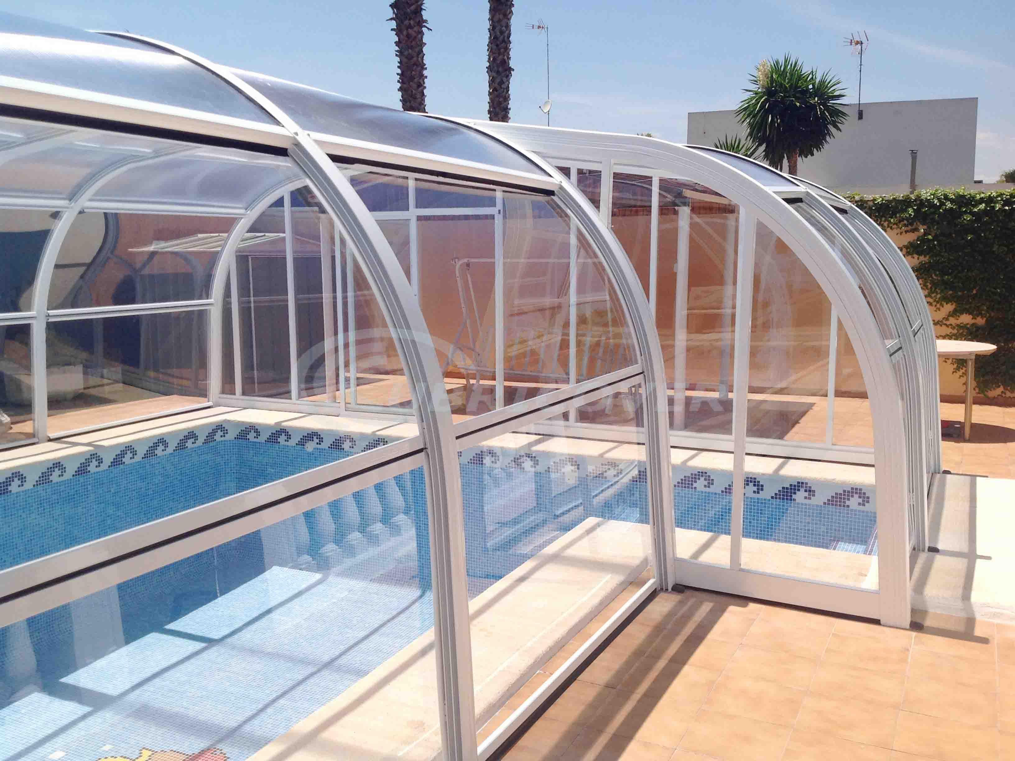 Cubiertas para piscinas fijas cubricover - Piscinas cubiertas malaga ...