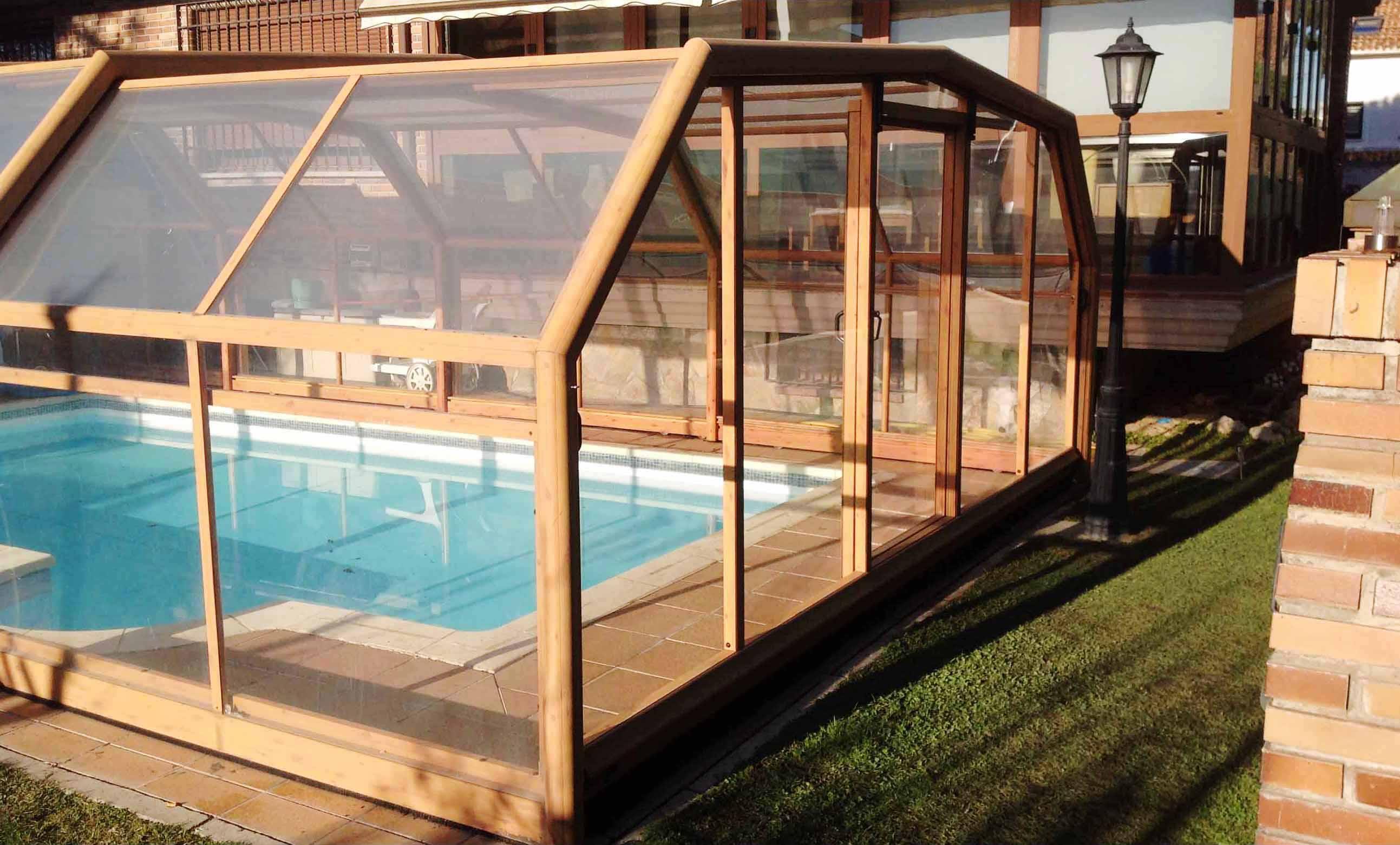 Reparaci n de cubiertas cerramientos y techos de piscinas for Techos para albercas