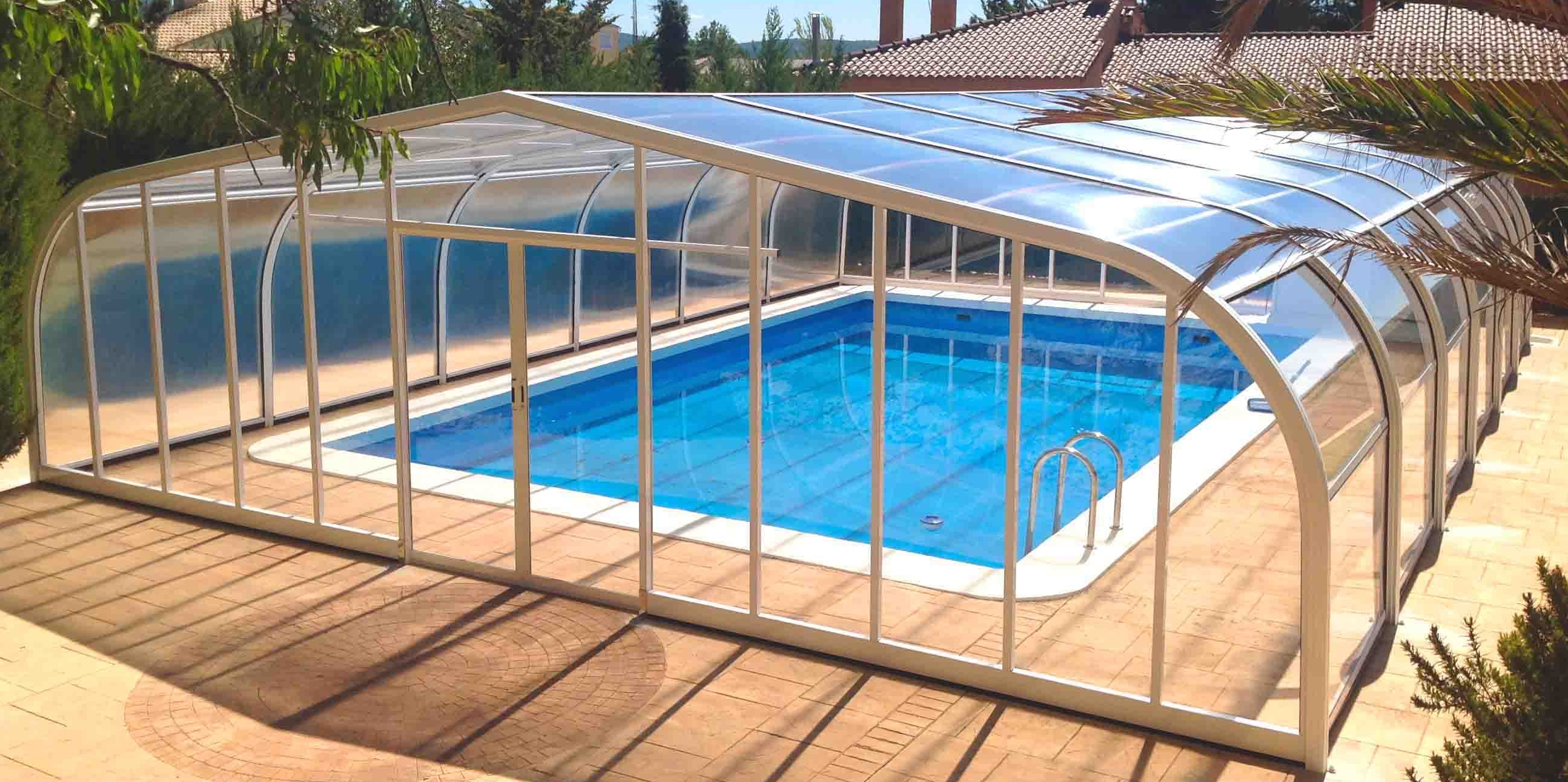 Cubiertas para piscinas fijas cubricover for Cubiertas para piscinas