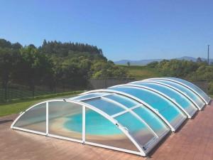 cubiertas piscinas bajas